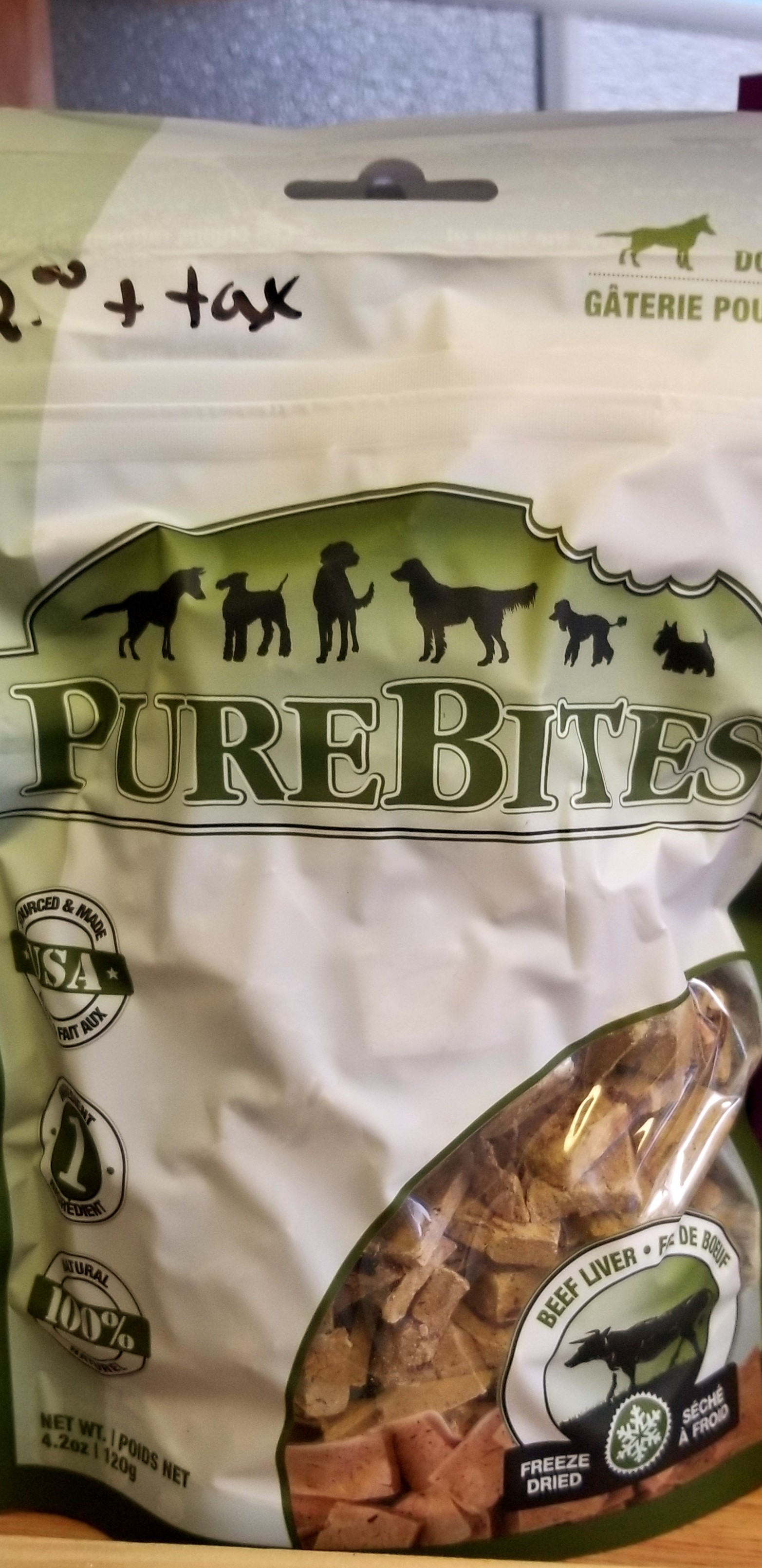 Pure Bites Beef Liver Treats