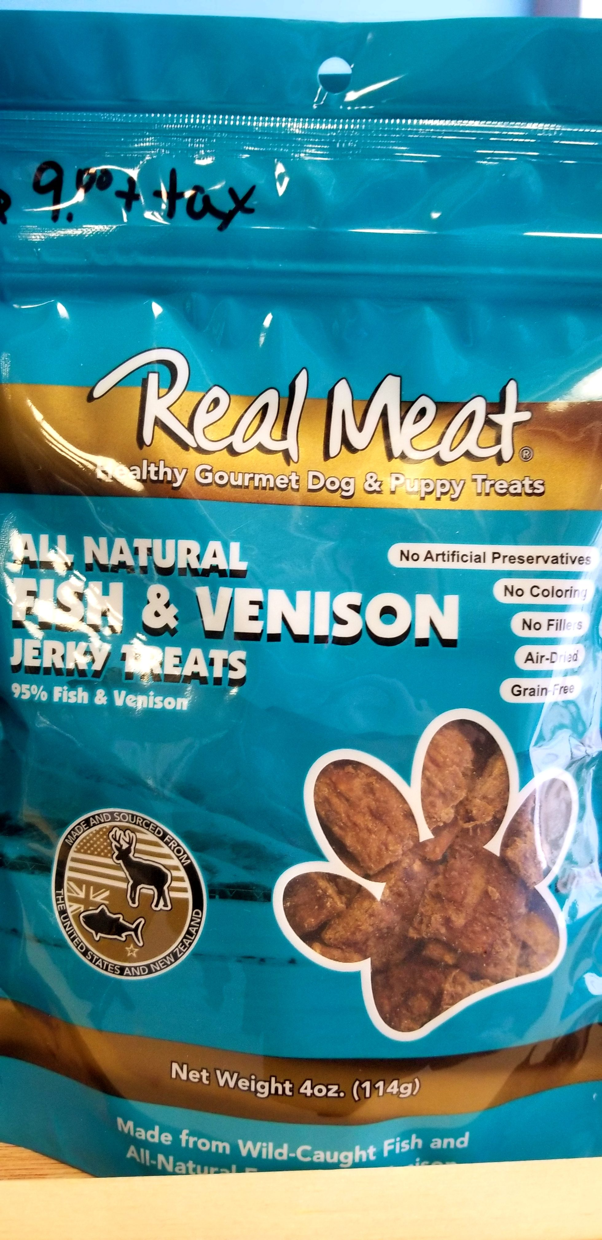 Real Meat Fish and Venison Treats