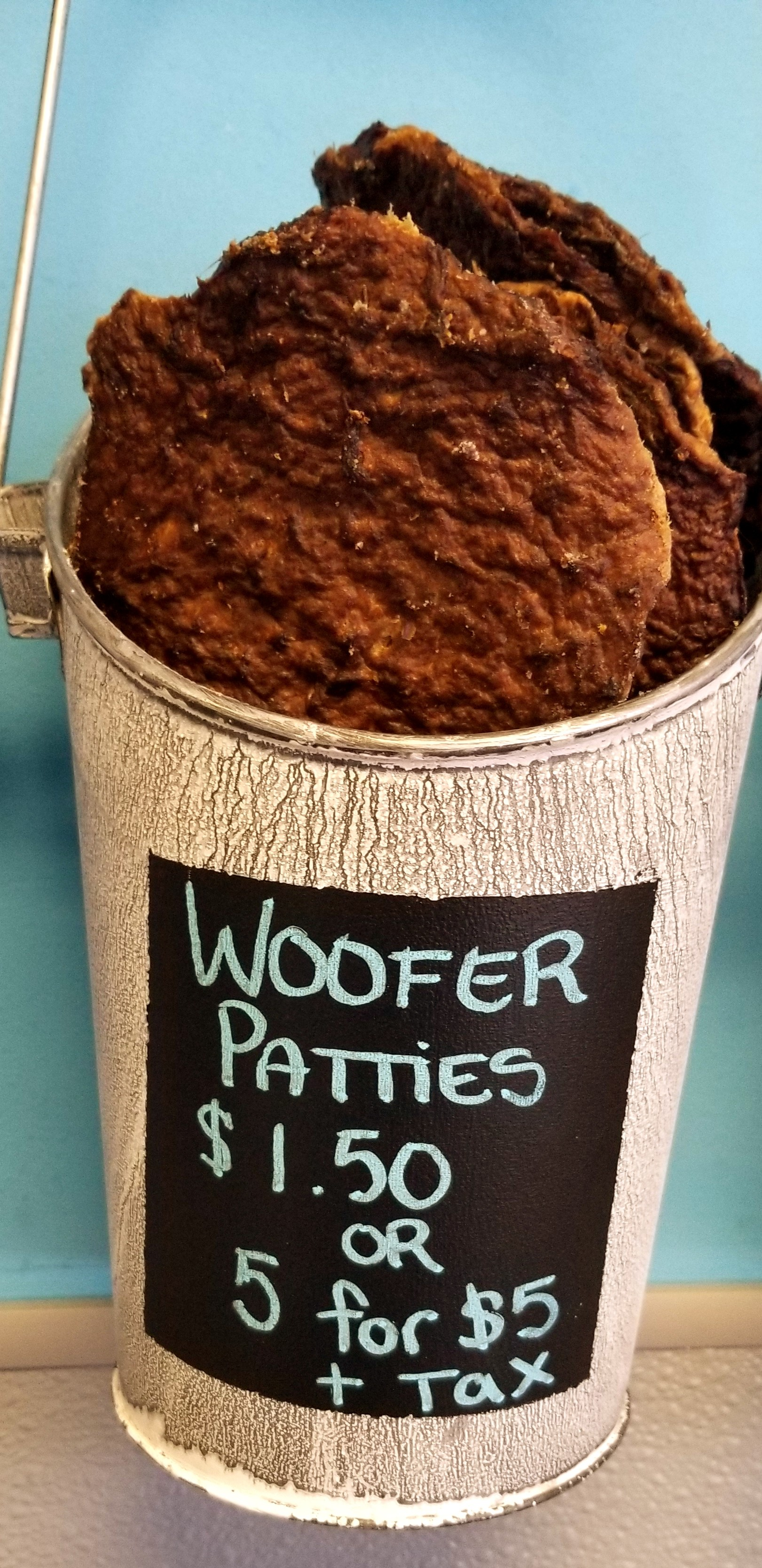 Jones Woofer Patties